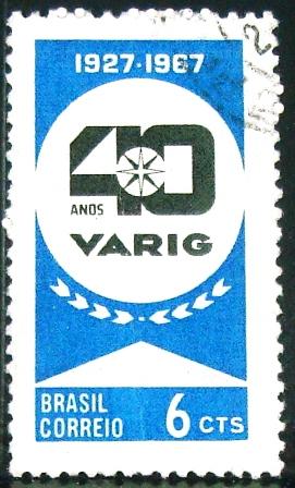 AVIÕES / AERONÁUTICA / HELICÓPTEROS AEROPORTOS : 1967 - Varig