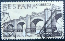 Selo postal da Espanha de 1969 Builders of the New World