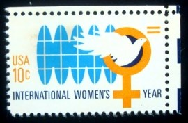 Selo postal dos Estados Unidos de 1975 International Women's Year