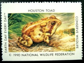 Selo cinderela de 1990 Houston Toad