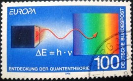 Selo postal da Alemanha de 1994 Discoveries and inventions - 1830 U