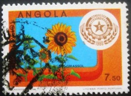 Selo postal de Angola de 1980 Congress of the MPLA Party 637 U