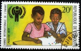 Selo postal de Djibouti 1979 International Year of the Child