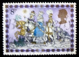 Selo postal do Reino Unido de 1979 The Three Kings
