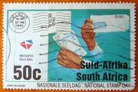Selo postal comemoraivo Africa do sul 1994 - Stamp Day