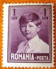 Selo postal regular Romenia 1928 Michael I of Romania 7,5 -327 U