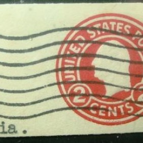 0000 - USA Philatelic Stationery - 2c / 2
