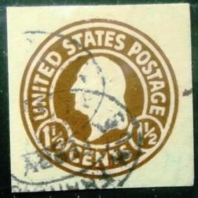 0000 - USA Philatelic Stationery 1½