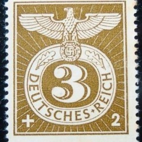 1943 - Reich-Eagle with numeral