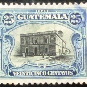 1911  -  General Post Office 25c