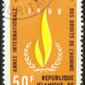 1968 - International Year of Human Rights 50