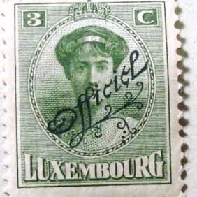 1922 - Grand Duchess Charlotte 3c